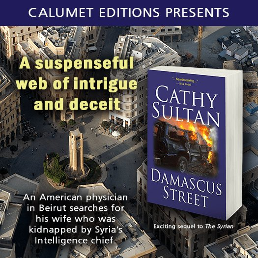 RT@AmazngAuthors Will an american physican find his kidnapped wife in Beirut? Who can he trust? Read DAMASCUS STREET and find out!  smarturl.itDAMtg pic.twitter.com/5Kt8tuiY6O ^;