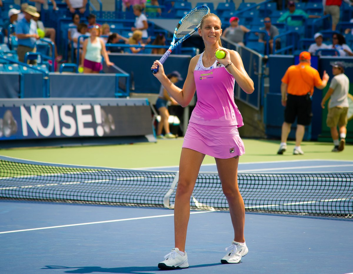 Only smiles here in @CincyTennis