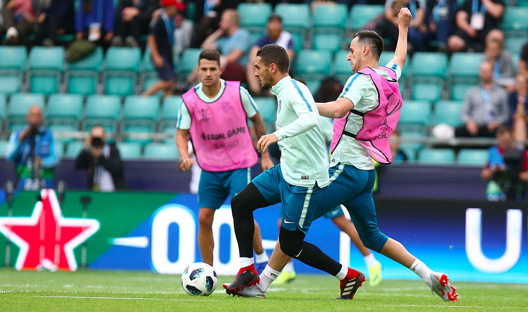 Atlético de Madrid's photo on Tallin