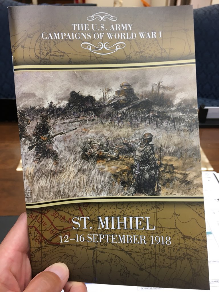 Hot off the press for #wwi100. Thanks to Don Carter! #ArmyHistory #CMH<br>http://pic.twitter.com/w7ysAkQjg2