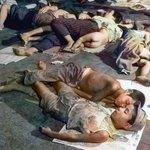 73年前の今日。1945年8月15日,終戦の日。玉音放送により,日本の降伏が国民に公表された。写真はその翌年「LIFE」誌に掲載された,上野駅の構内で眠る人々。ニューラルネットワークによる自動色付け+手動補正。