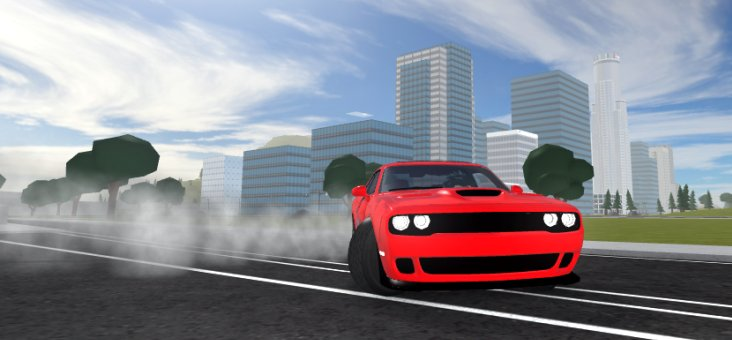 Code naming this #VehicleSimulator update 🚨 SHAKEDOWN 🚨 4 new vehicles: Dodge Hellcat, Seaplane, City Bus, Harley Davidson V-Rod. Itll be our biggest update yet... We just need more time, itll be worth the wait.