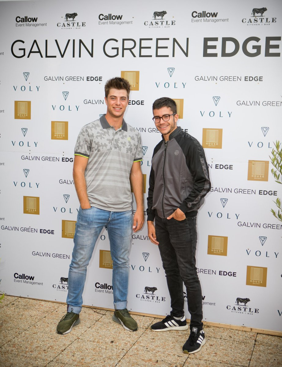 Looked like a great night at the @galvingreen Edge launch at @GalgormResort . Lads looking sharp. Best of luck with the Edge launch and wishing all the players a great week! @modestgolf delighted to be involved !
