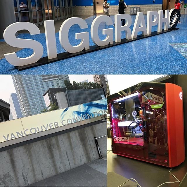 We are at #SIGGRAPH2018 in #Vancouver!