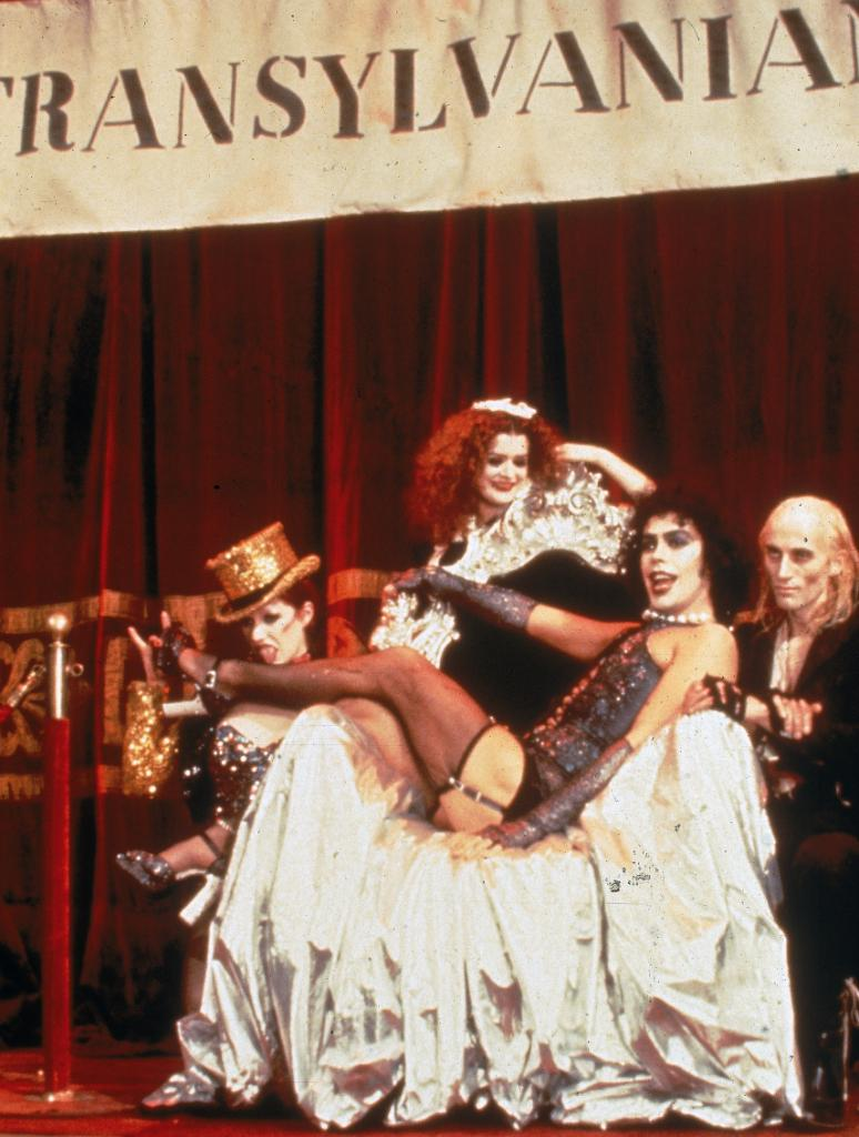 On #ThisDayinHistory 1975, The Rocky Horror Picture Show premieres in the UK, followed by a September US release. #FunFact: It's technically the longest-running film in history, as it's been in theaters since '75. Anyone up for the #TimeWarp? #RHPS