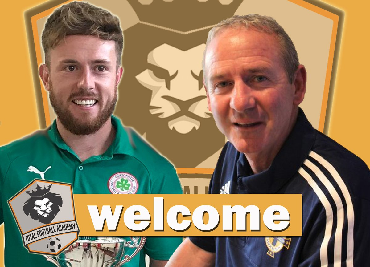 We are pleased to announce that we have added 2 great additions to the coaching staff for our 2018/19 programme.   Looking forward to welcoming @jamesdaly16 &amp; @SeamusHeath1 to Total Football this September!  #grassroots #development #footballfamily #PremierCup<br>http://pic.twitter.com/2hOiQeLb4E