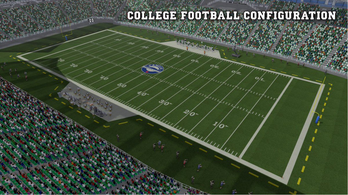 College Football in a video game? We have College rules in #MaximumFootball2018! Would you like to see more College elements added to the game in the future? (Dynasty/Recruiting, Option Plays, Teams, etc)<br>http://pic.twitter.com/8vo2MHFmV8