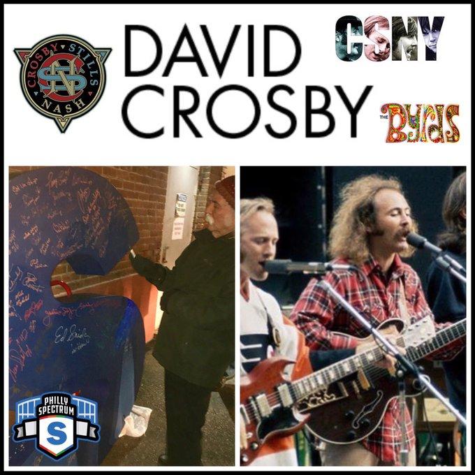 HAPPY BIRTHDAY David Crosby!!!