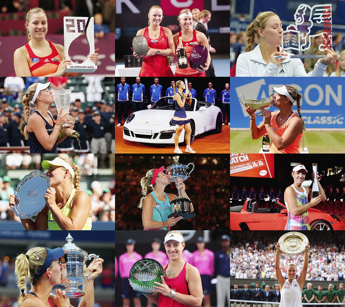 A real champion @AngeliqueKerber  I&#39;m so proud of all of your achievements   And I&#39;m so happy for you. You deserve everything! And it&#39;s far from being over  #TeamAngie<br>http://pic.twitter.com/7RvRsvYODr