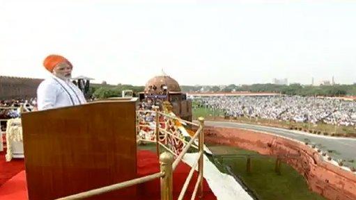 #HappyIndependenceDay - PM Modi