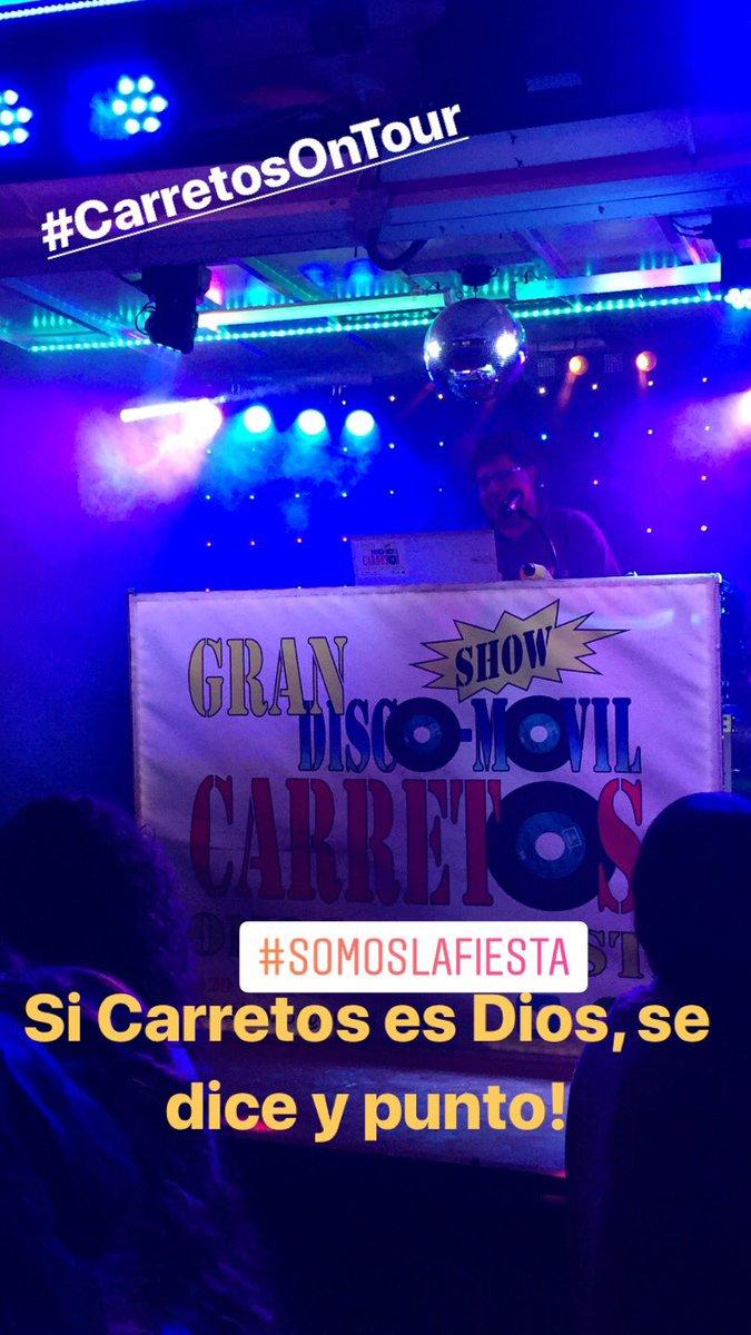 Ni panorama, ni Sonorama, Si Carretos es Dios se dice y punto! @discocarretos #SomosLaFiesta #MonasterioDeVega