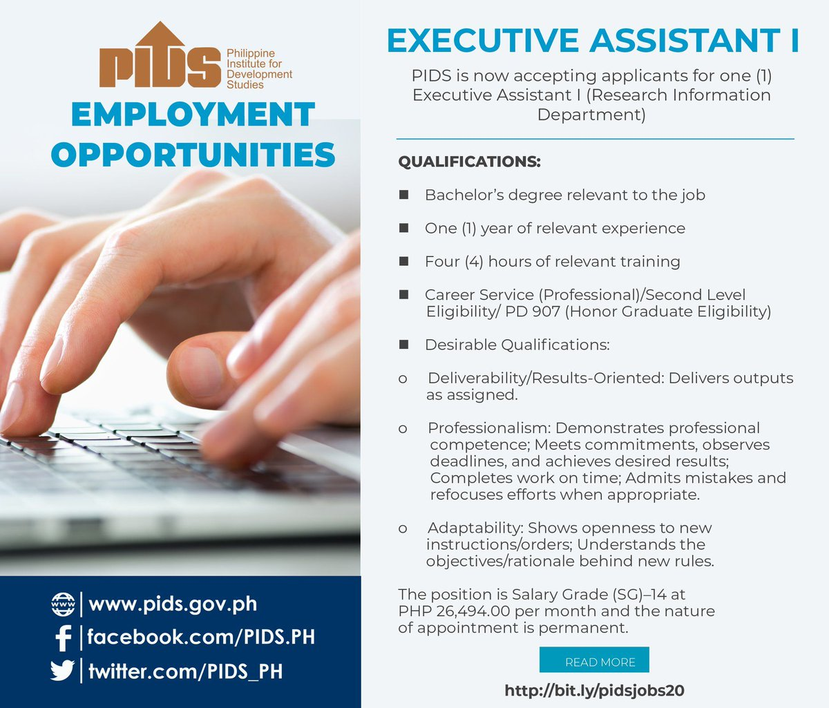 Pidsph On Twitter Pidsjobs Hello Friends Pids Is Now