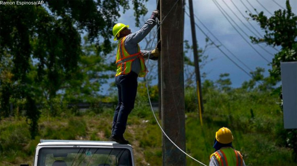 Nearly one year after Hurricane Maria, 100 percent of customers have power in Puerto Rico, officials say. https://t.co/aFzja3Kyyh