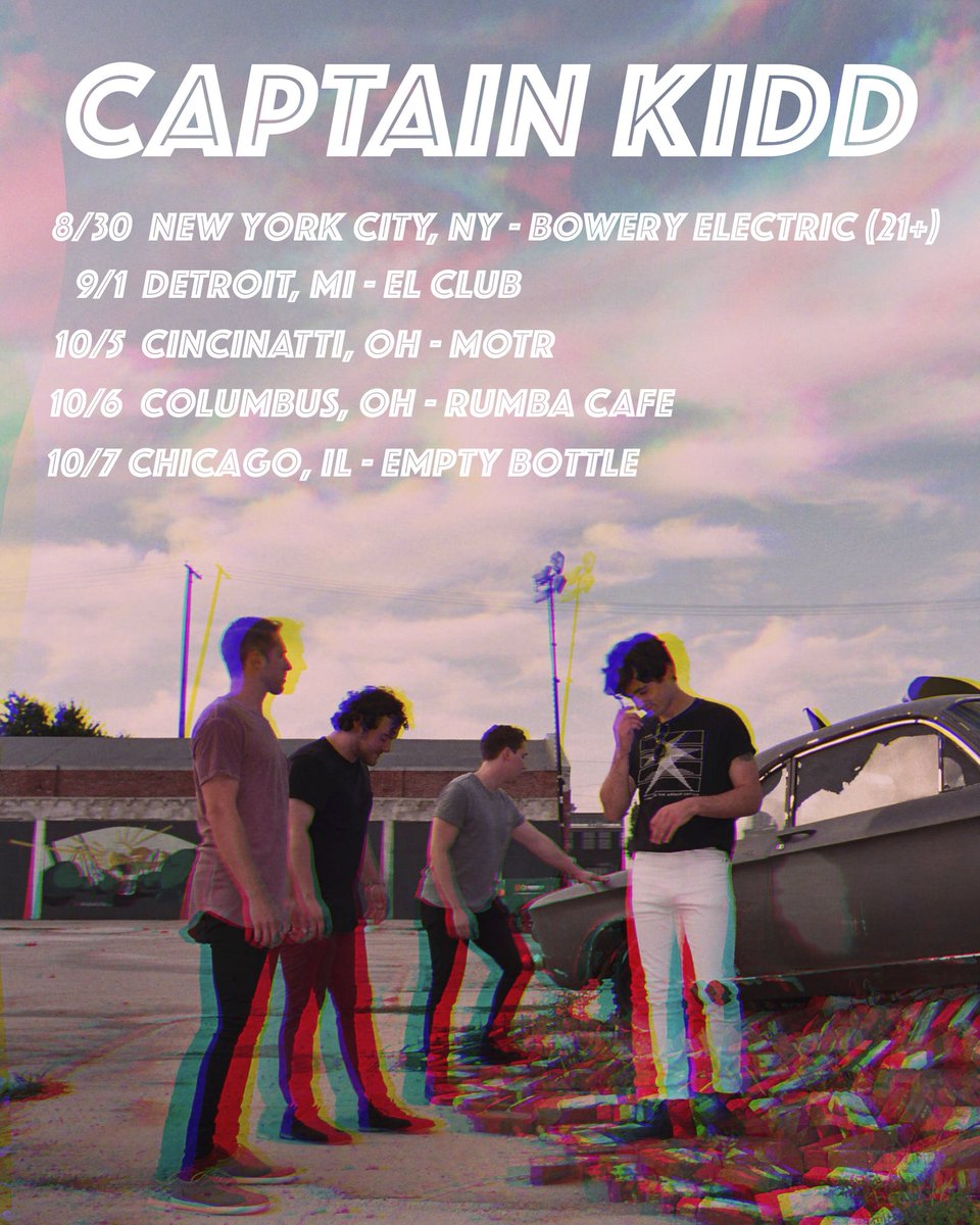 Captain Kidd On Twitter Come See Us Live This Fall More Dates To
