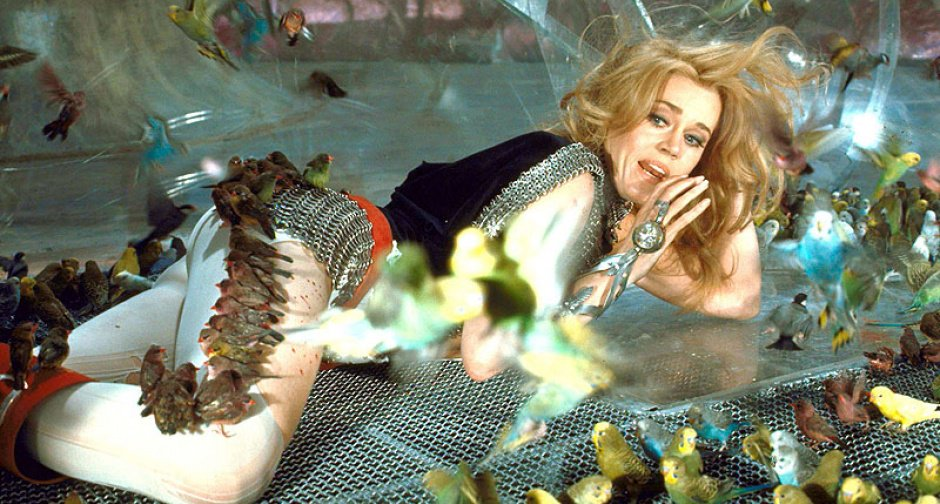 weird that they called it BARBARELLA and not 'Oh No, The Budgies!'