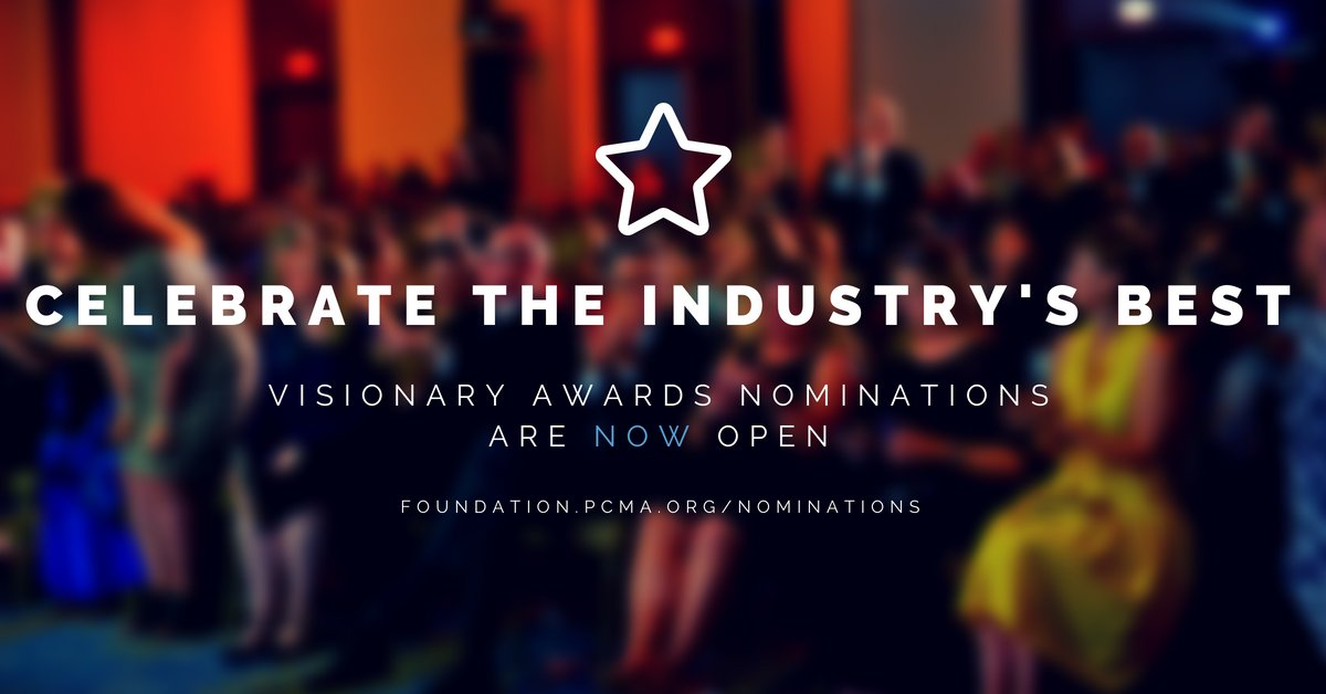 Know someone who deserves a shout out for everything they do for the industry? Nominations for our Visionary Awards are now open! With multiple categories available, you or a colleague might be stepping on the red carpet in 2019. Nominate here:  http:// bit.ly/2JFzBCg  &nbsp;  <br>http://pic.twitter.com/PxfHqomtV6