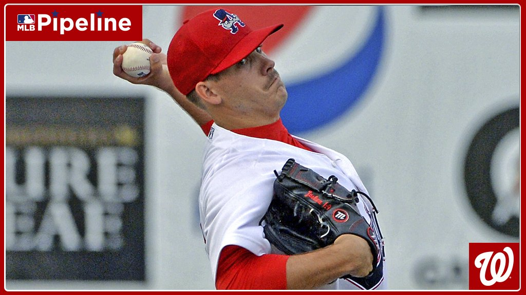 #Nats prospect Ben Braymer, an 18th-round pick out of @AuburnBaseball in 2016, didn&#39;t allow a hit through 7 innings for the @PNats42 in Game 1 of tonight&#39;s doubleheader. It was scheduled for 7, but so far ... no score:  https:// atmlb.com/2Pagogb  &nbsp;  <br>http://pic.twitter.com/CSrF5cPmGs