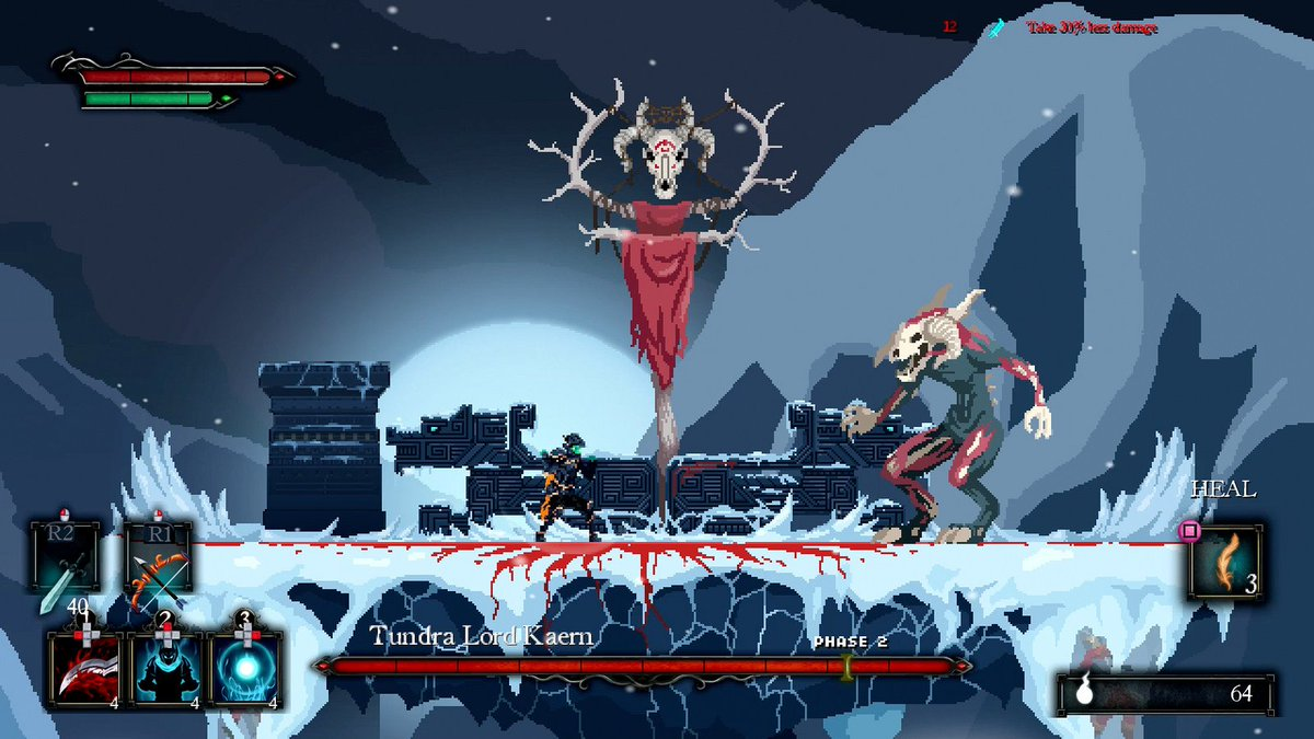 Death's Gambit is the side-scrolling action-RPG platformer you&#39;ve been looking for (even if you didn't know it yet). Out today for PS4:  https:// play.st/2vISRL2  &nbsp;  <br>http://pic.twitter.com/T8v1H1fGET