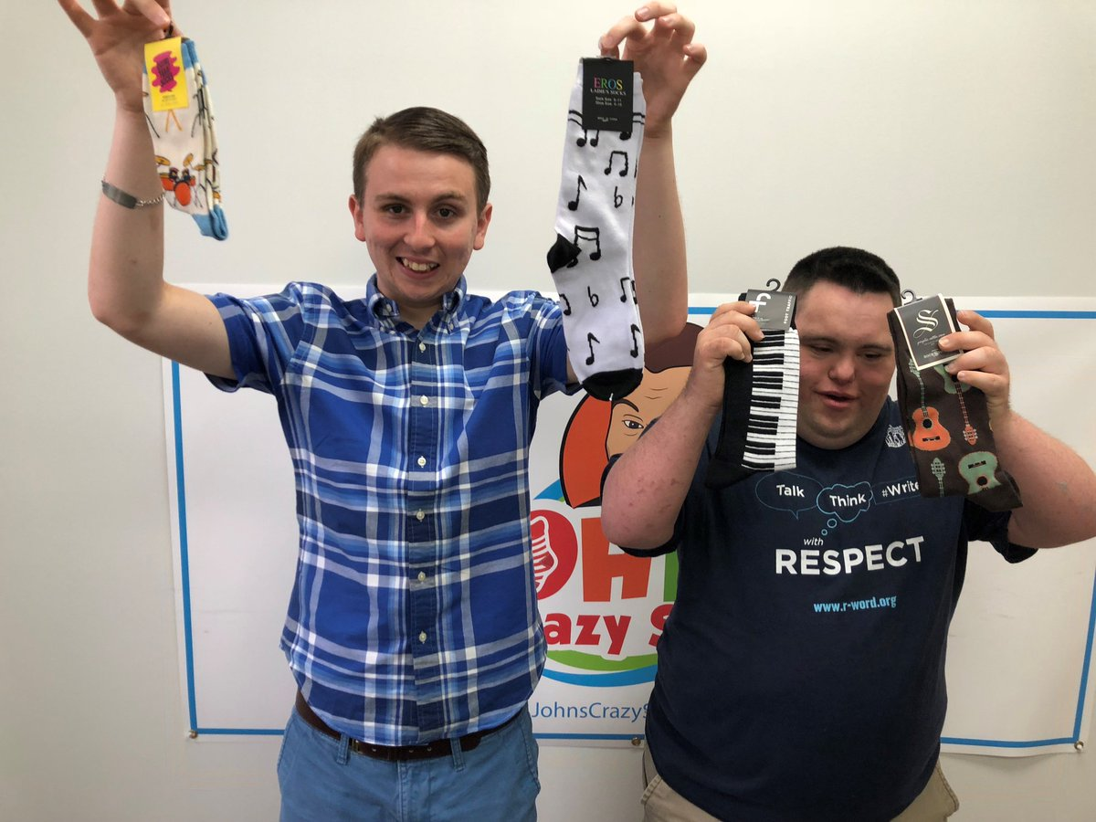 Most boys dream of being in rock band when they grow up. John and Liam? They have bigger dreams. Dreams of sock stardom. Who needs guitars and synthesizers when you have #music socks? Hit all the right notes with our collection of music socks:  http:// bit.ly/2nyUmHl  &nbsp;  <br>http://pic.twitter.com/x1i5HgfRtc