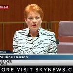 Pauline Hanson Twitter Photo