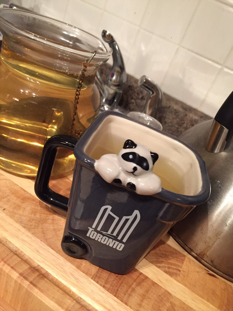 i got a new tea mug