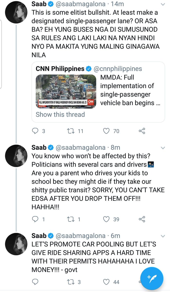 .@saabmagalona serving today's tea