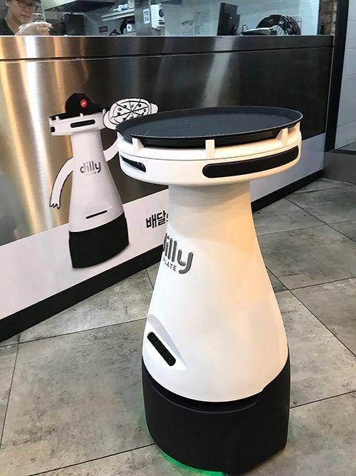 로봇이 갖다 주는 피자 직접 맛보니 https://t.co/m6UVLToVje