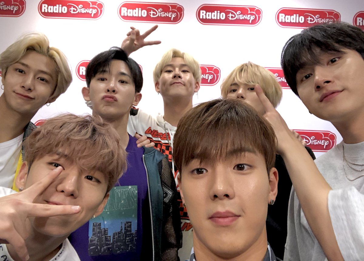 Just had the best time with @OfficialMonstaX in the studio!