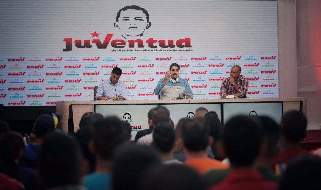 Nicolás Maduro's photo on El Poderoso