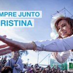 #FuerzaCristina Twitter Photo