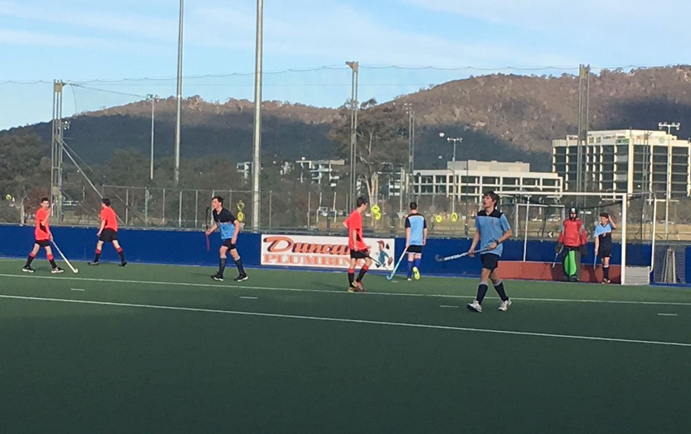 Congratulations to CGS U18 boys for yesterday's great game of #hockey