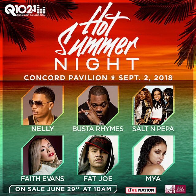 Can't wait to rock with u #Concord #CA ! Catch me live #Sunday #September2nd at at Q102's #HotSummerNight @ConcordPavilion Details > https://t.co/VSI0I6DiPo