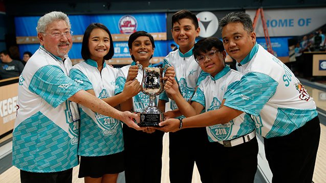 Congratulations to the members of Four the Love of Boba for claiming the U12 title at the 2018 USA Bowling National Championships presented by Sixlets!  This year's championship match aired Tuesday night on @CBSSportsNet.  Read more now!  https://t.co/mwGbdPdYEX