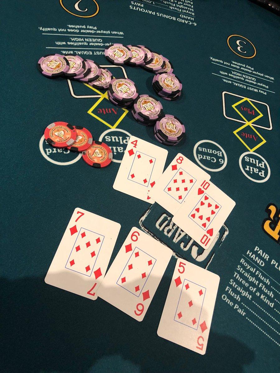 Turlock Poker Room On Twitter 5 Card Straight Flush For 3 000 On