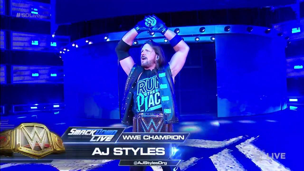 UP NEXT: #WWEChampion @AJStylesOrg has more to say to his #SummerSlam opponent @SamoaJoe. https://t.co/3rn3t4HgTm