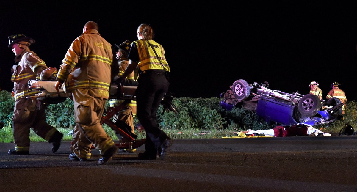 Two hospitalized after Aurelius crash; driver charged with DWI