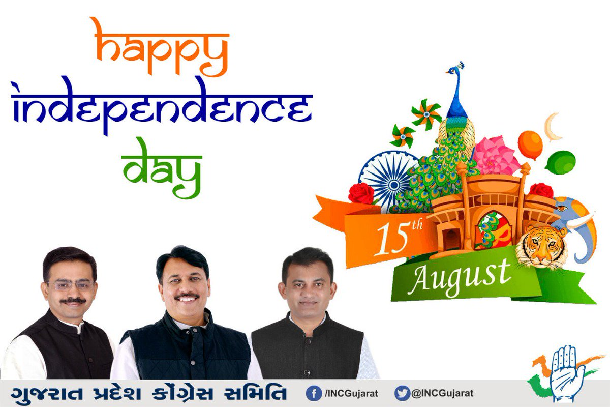 72 years ago our forefathers made a pledge to aid the exploited, marginalised &amp; the persecuted; to give succour, to give hope &amp; to stand with the last man in the line. It is time to redeem that pledge...  Come together, come as one.Happy Independence India!   Jai Hind! <br>http://pic.twitter.com/sgOEOhCG3V