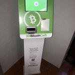 Image for the Tweet beginning: #BitcoinCash VENDING MACHINE IS LIVE