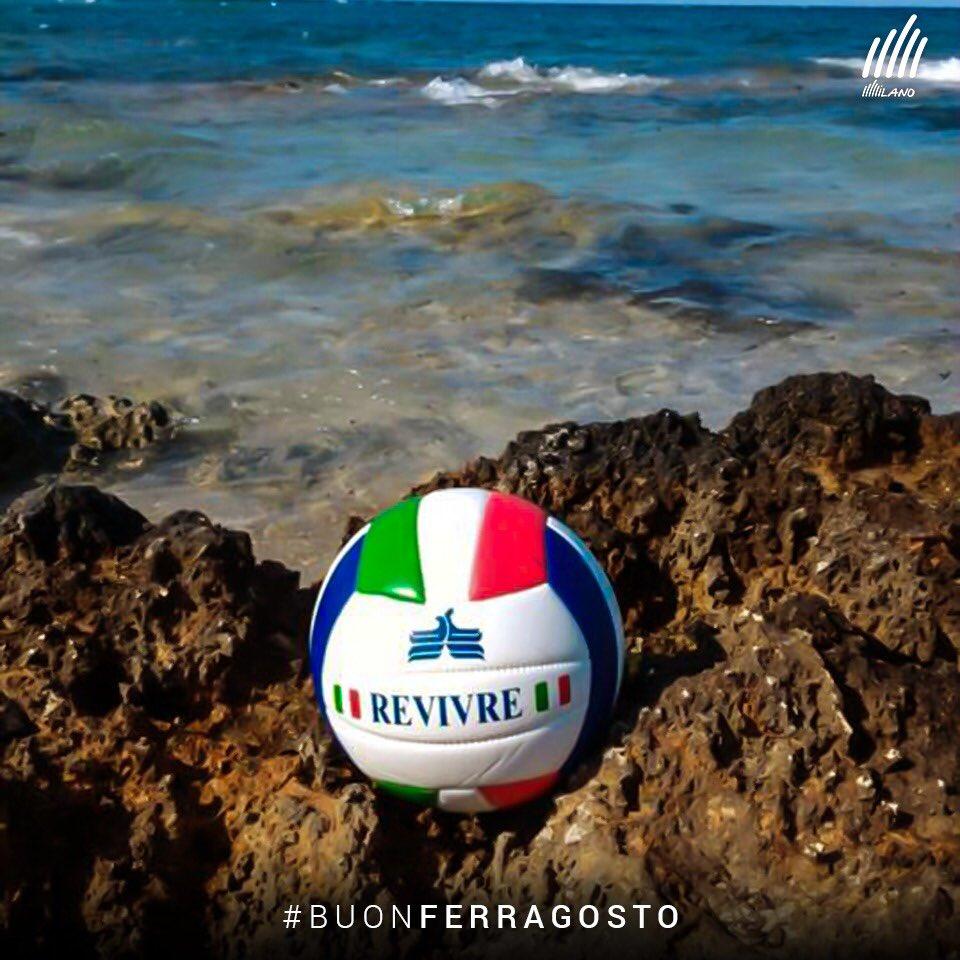 Anche al mare, il #volley è con noi!  #BuonFerragosto#Ferragosto #OnThisDay #15agosto #PowervolleyMilano #RevivreMilano #volleyball #pallavolo  - Ukustom