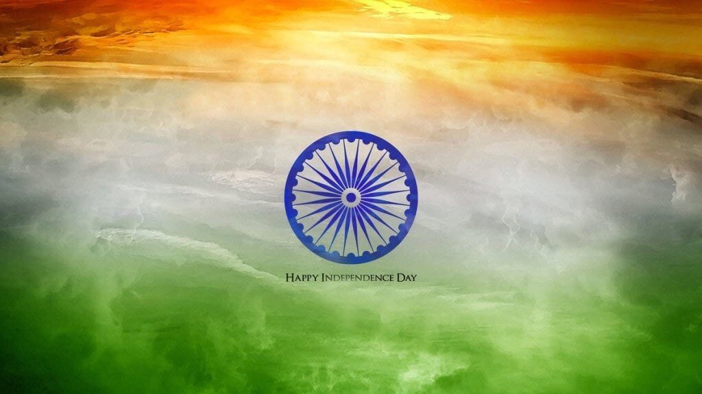 My love for #India soars as high as the flags today! #HappyIndependenceDay to all!