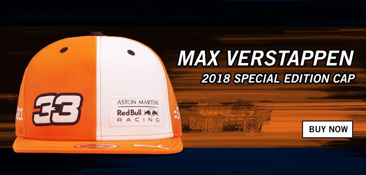 max verstappen cap 2018