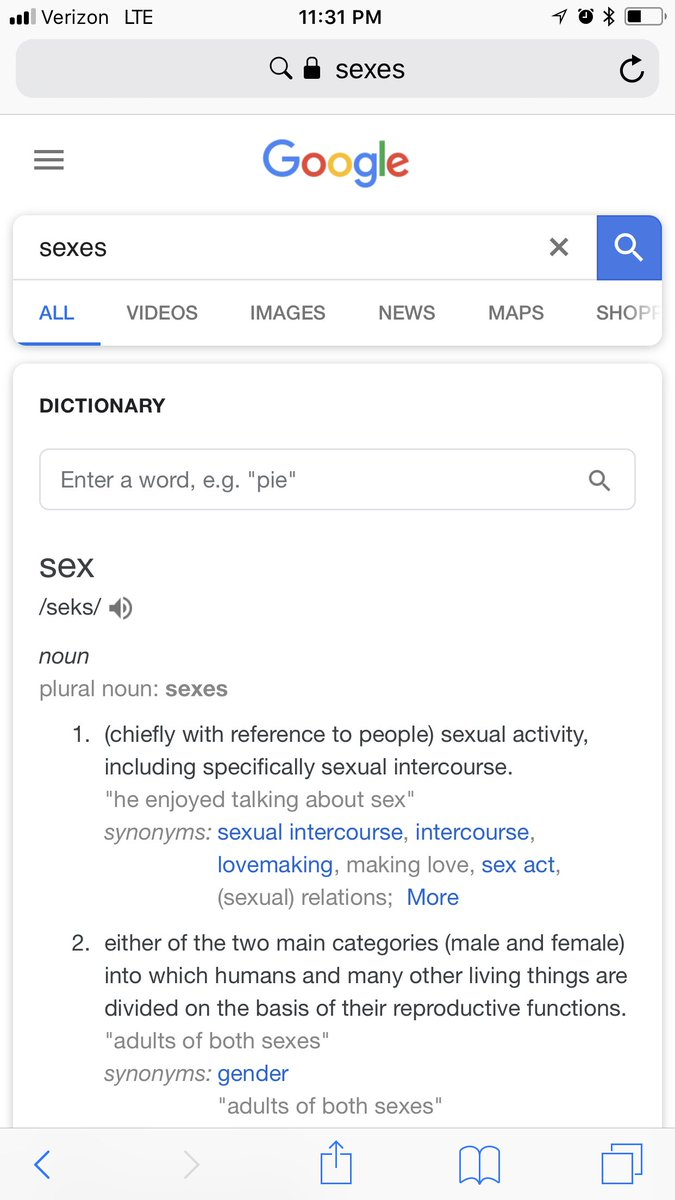 Synonymer Till Sex