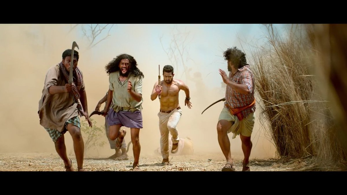After The FL release some People say This is  Not orginal It&#39;s just a Photoshop !!! Now what you say ?? #AravindhaSamethaTeaser<br>http://pic.twitter.com/wNGl3FtoVa