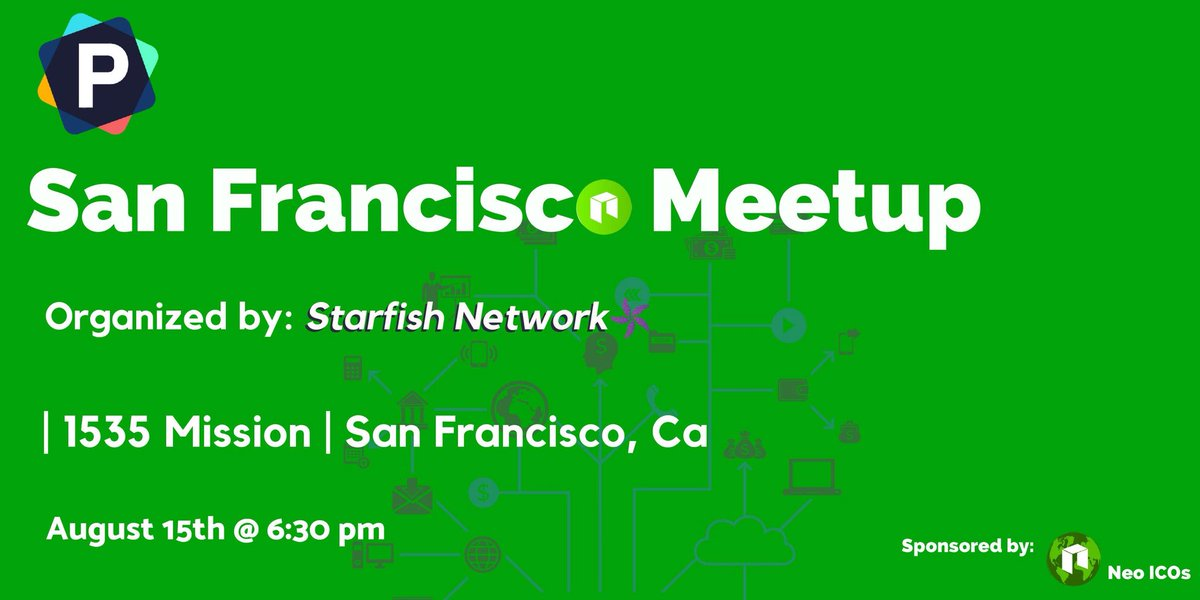 Hello community members, we are sponsoring this Meetup in San Francisco and we would like to invite all of you to join us on August 15th. There will be food and drinks available and conversations about the mighty Neo Blockchain, so don't miss out!  https://www. reddit.com/r/NEO/comments /97exej/san_francisco_meetup/?st=JKUKDTKE&amp;sh=32c1d502 &nbsp; … <br>http://pic.twitter.com/HeV3TNkfwZ