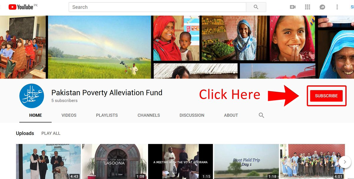PPAF has launched its official YouTube Channel. Subscribe to our channel to learn all about how PPAF is #RestoringHope #SecuringTheFuture and #EndingPoverty  https://www. youtube.com/channel/UC6OZW TSXd1xxFikhUPfX6Xw &nbsp; … <br>http://pic.twitter.com/EwvxgXQhH2