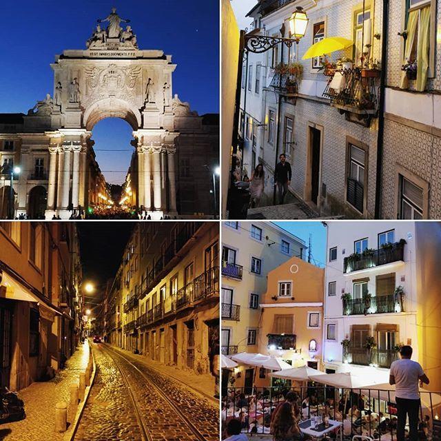 Lisbon by night #Lisbon #Lisboa #Portugal #pracadocommercio #tramlines #hills #restaurant #outside #lisbonbynight #night #Twitter #partage  https:// ift.tt/2MRspFy  &nbsp;  <br>http://pic.twitter.com/z17coOztDg