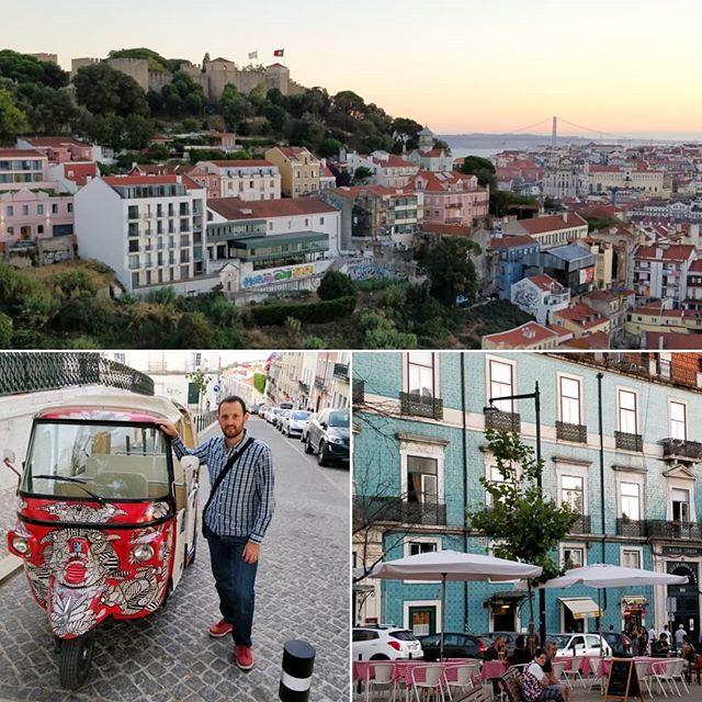 Colorful and beautiful Lisboa ! #Lisbon #Lisboa #Portugal #castle #tuktuk #colour #walls #views #Twitter #partage  https:// ift.tt/2Pbkk03  &nbsp;  <br>http://pic.twitter.com/Dx6YEGdyKM