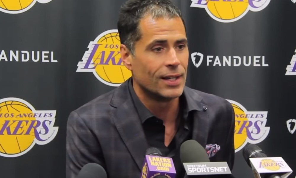 Can't believe you guys got an interview with Rob Pelinka <br>http://pic.twitter.com/2CARjAjgzi