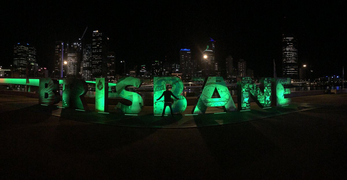 Welcome to Brisbane !! Very cool place