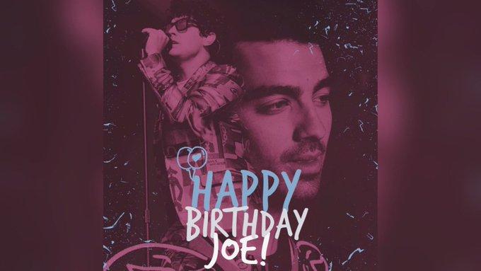 Happy 29th Birthday JoeJonas